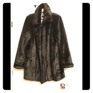 Dennis Basso Black Fur Coat